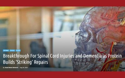 Dementia and Spinal Cord Injury Breakthrough